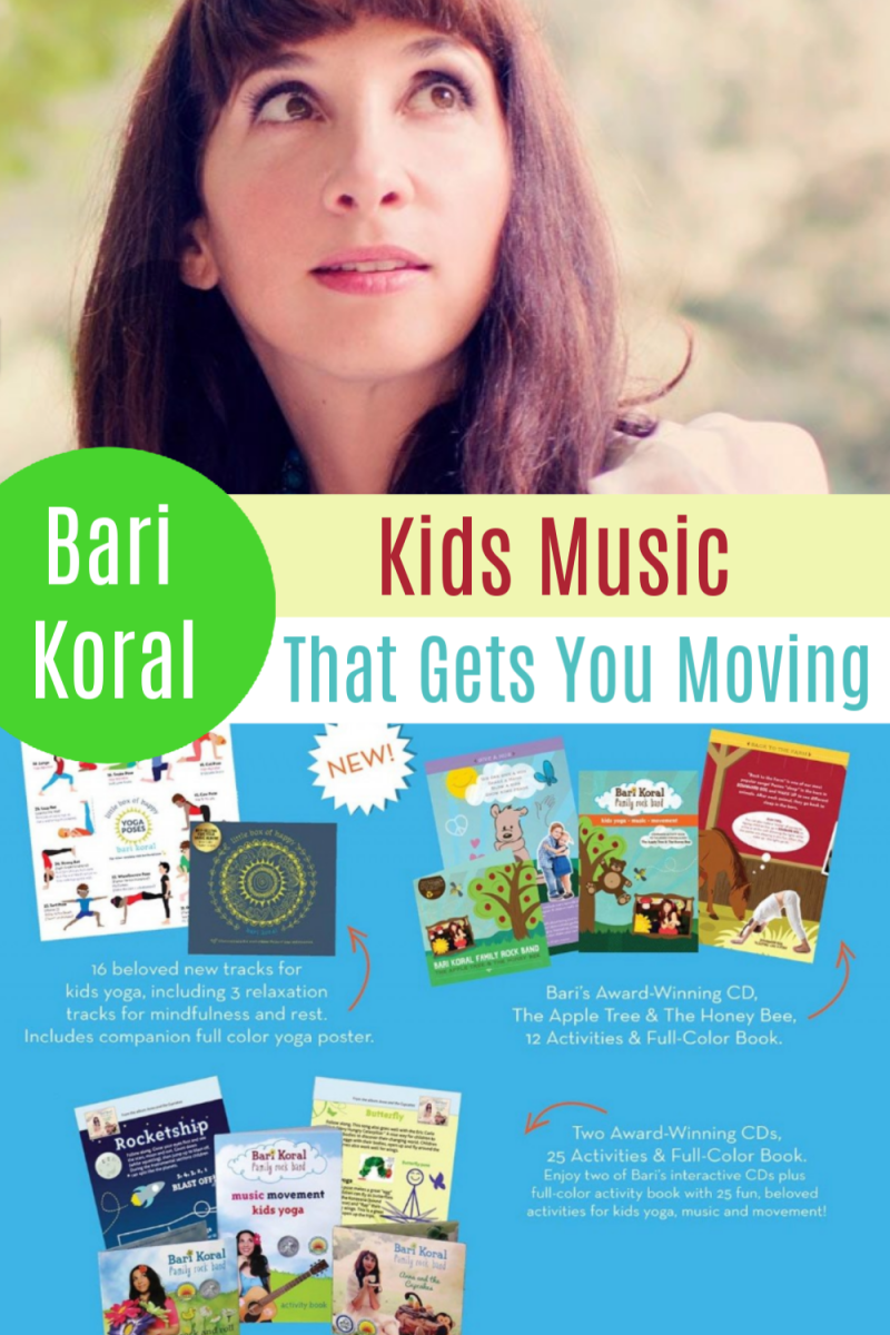 Bari Koral Family Rock Band ~ A MUST Listen For Kids! {+ Bari Koral Yoga, Music, and Movement Set GIVEAWAY!}