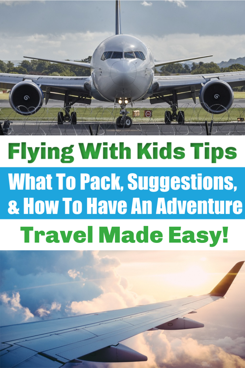 How To Pair Kids And Long Flights {Holiday Traveling Made Easy Tips}
