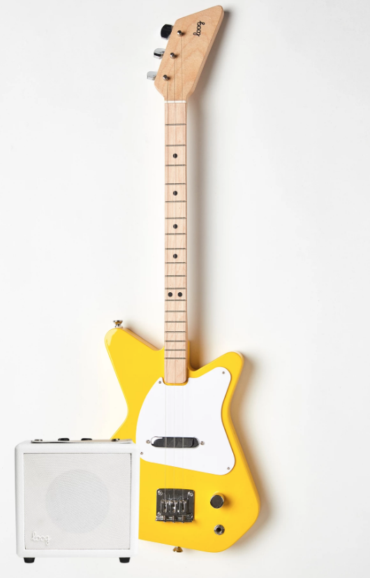 loog pro electric guitar a wow gift for kids emily reviews. Black Bedroom Furniture Sets. Home Design Ideas
