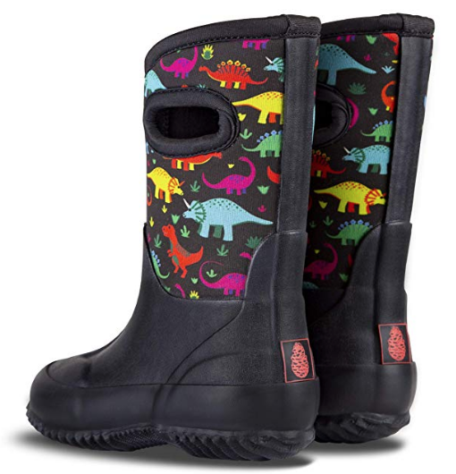 LONECONE All Weather MudBoots for Toddlers and Kids - Neoprene Boots for Rain, Muck, Snow