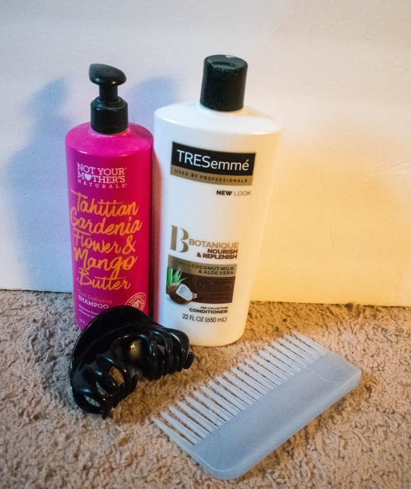 Curly girl simple and affordable routine for 2b/2c/3a wavy curly hair