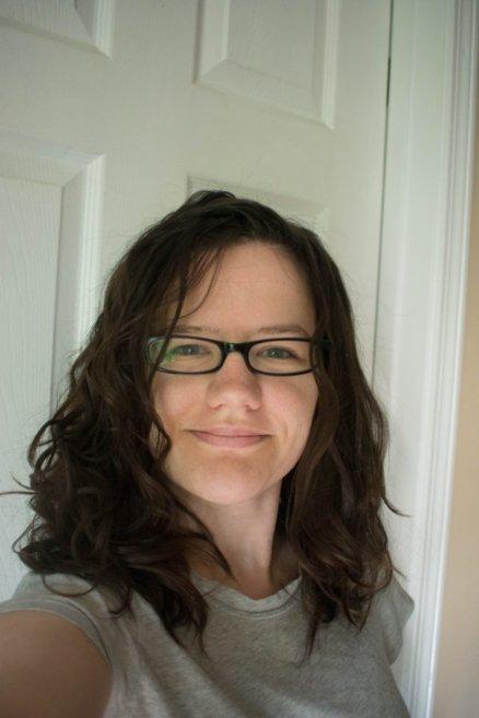 Curly girl method uneven curls