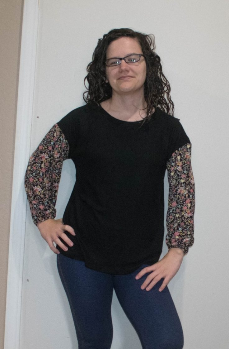 Nadine west floral sweater