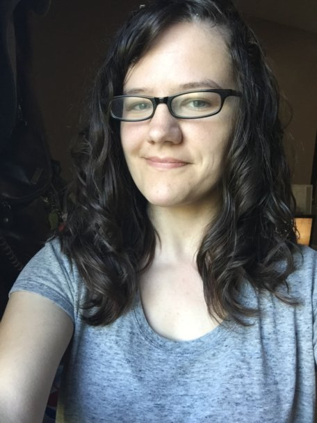 Naturally wavy hair after protein treatment