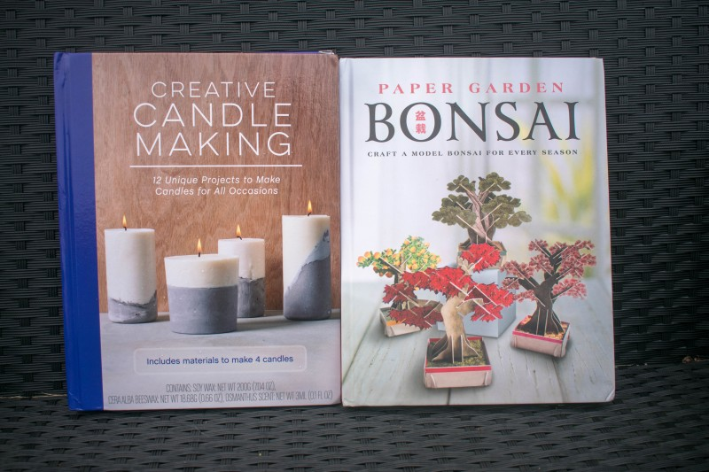 Quarto creative candle makig ad bonsai paper craft
