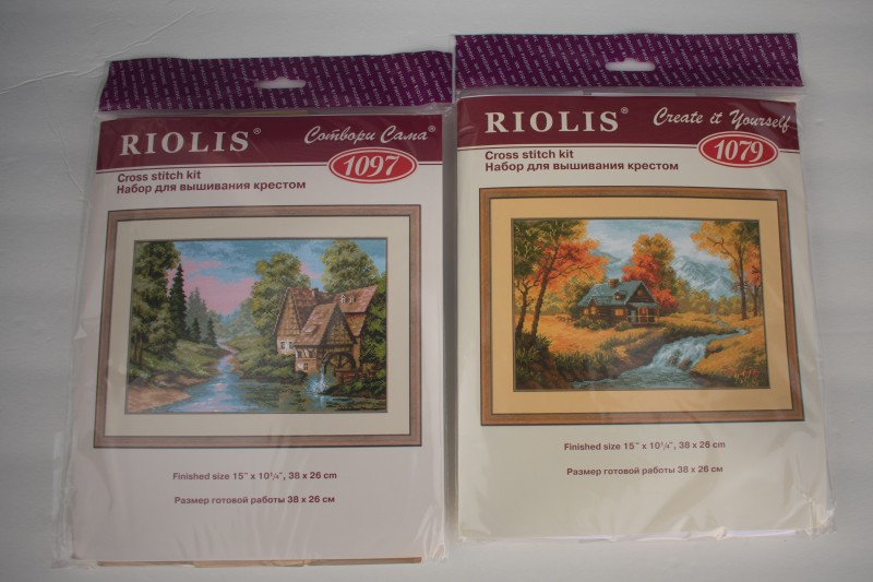 RIOLIS cross stitch kits