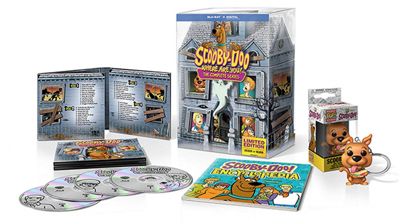 WB Home Entertainment ~ Peanuts 70th Anniversary Collection & Scooby Doo The Complete Series