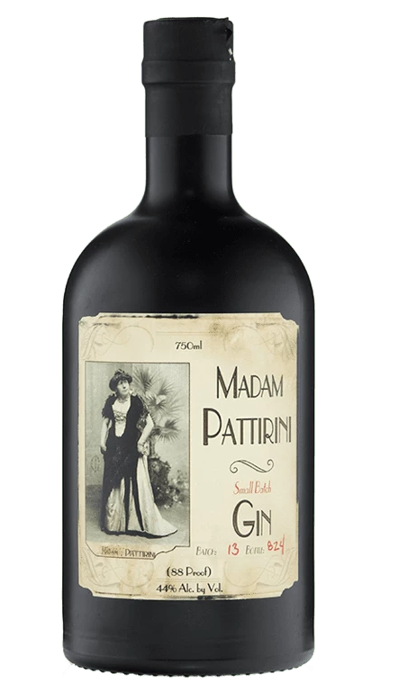 OGDEN'S OWN DISTILLERY MADAM PATTIRINI GIN 750ML