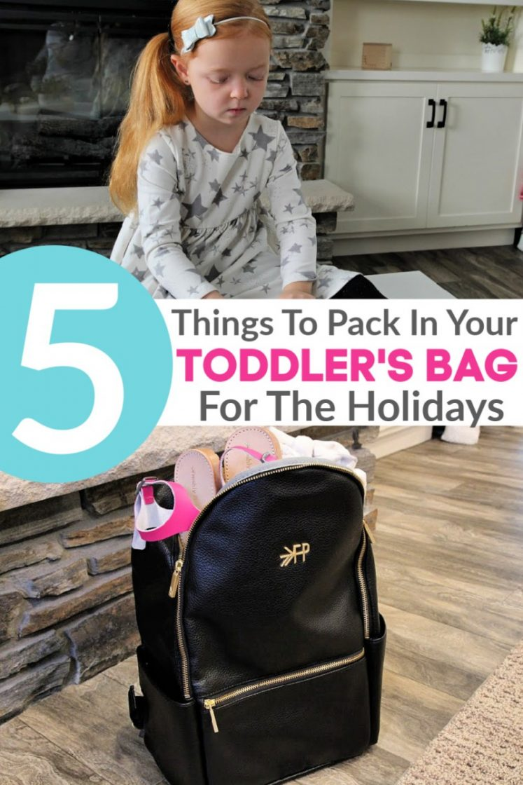 What To Pack In Your Toddler's Diaper Bag This Christmas {+ Freshly Picked BIG Sale!}