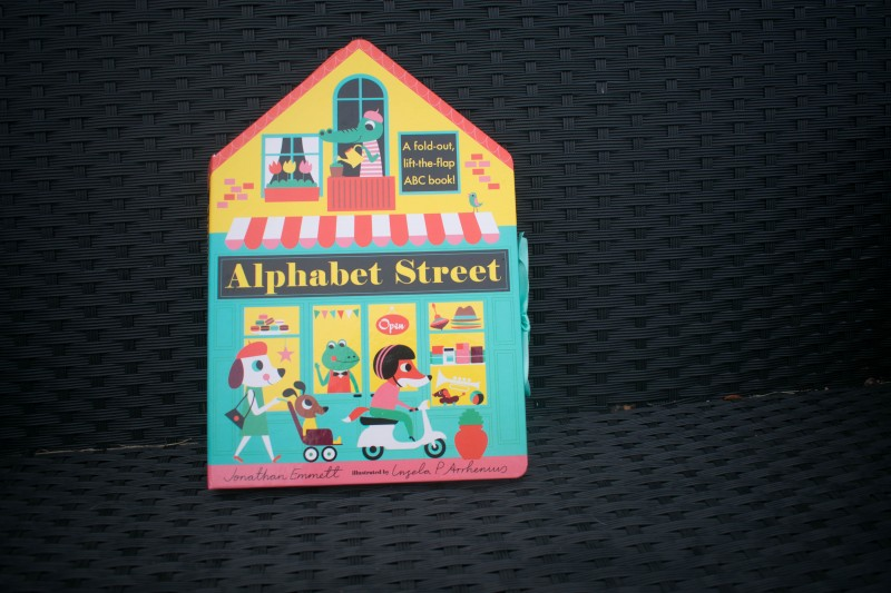 Candlewick press alphabet street