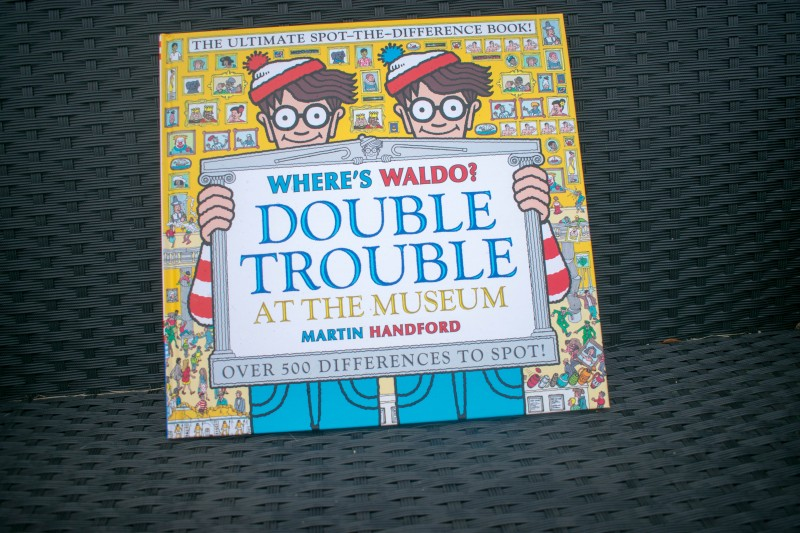 Candlewick press where's waldo double trouble