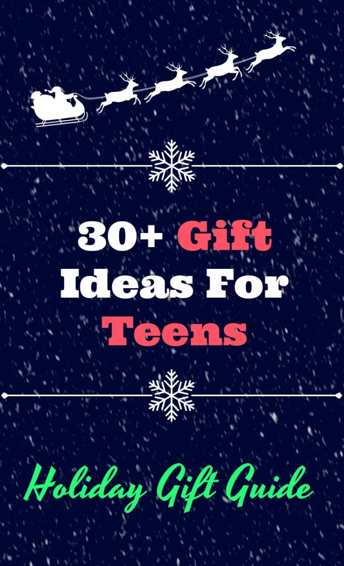 30+ gift idea for teens. Teenagers can be so tricky to buy for. #giftsforteens #giftsforteenagers #teengirlgifts #teenboygifts #giftguide