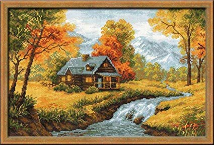 RIOLIS autumn cross stitch kit