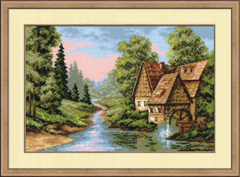 RIOLIS Mill cross stitch kit