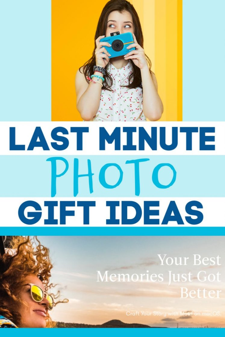 Last Minute Photo Gift Ideas From Polaroid & Motif