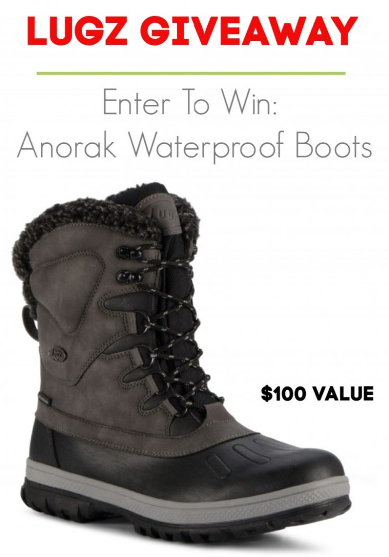 Lugz Anorak Waterproof Boots Giveaway