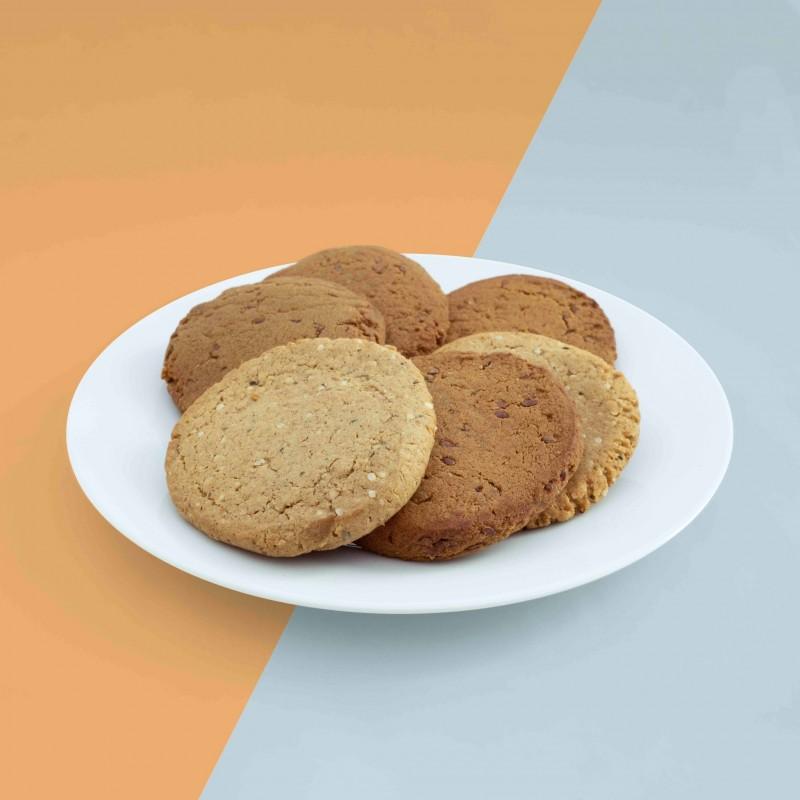 BellyCrush yellow pea fiber cookies