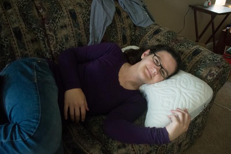 Honeydew scrumptious side sleeper pillow