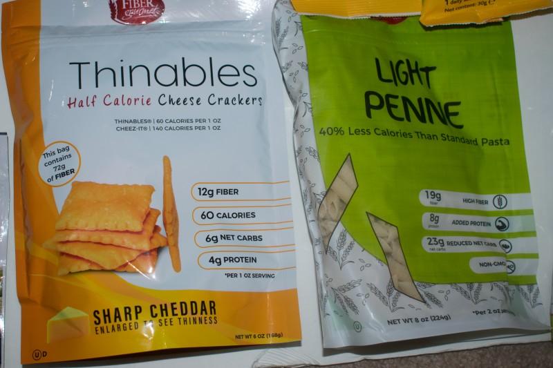Lovidia low carb snacks and food bundle