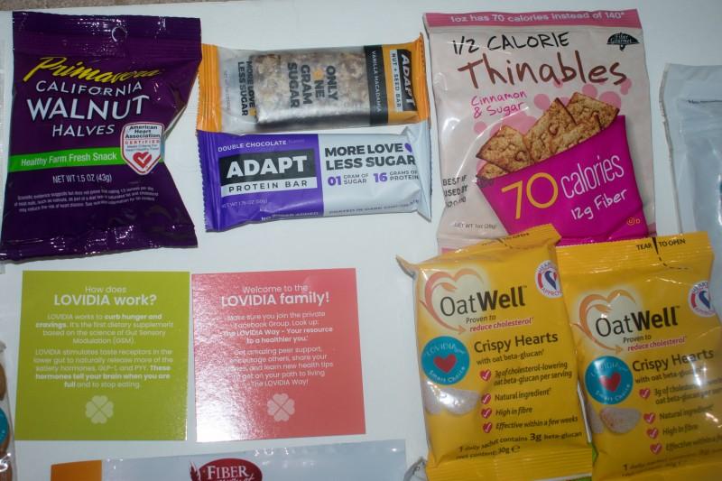 Lovidia low carb snacks