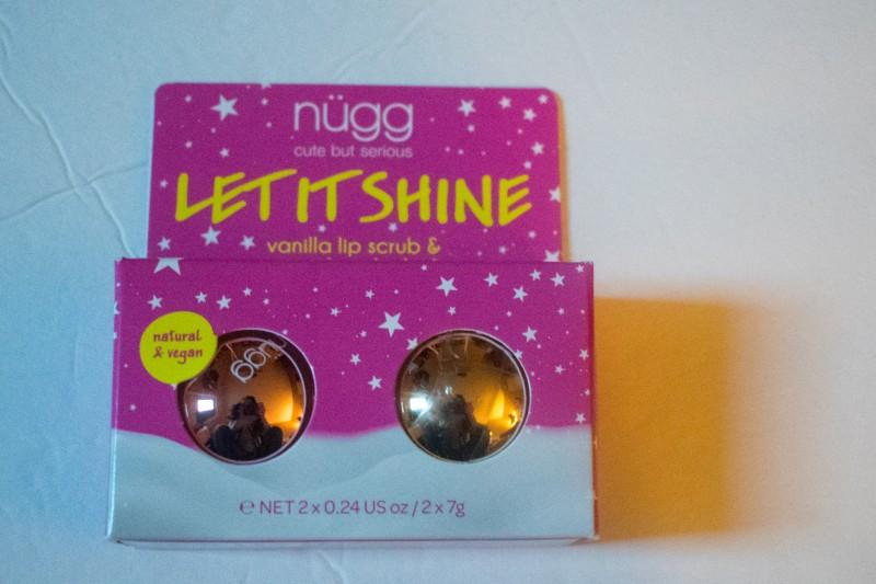 Nugg lip scrub & lip balm holiday set