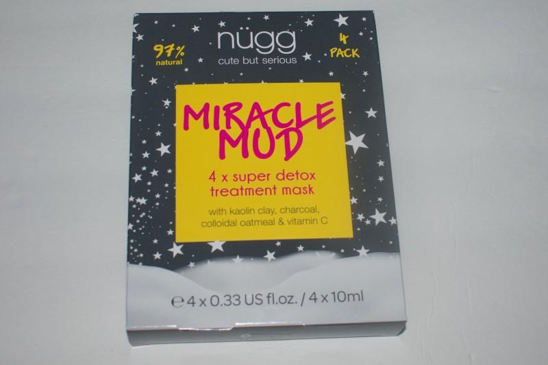 Nugg Miracle mud 4 pack masks