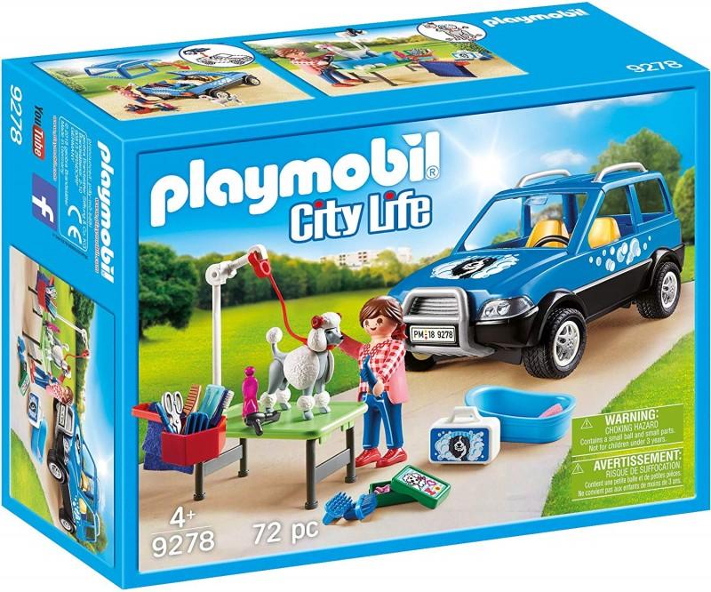 Playmobil mobile groomer set