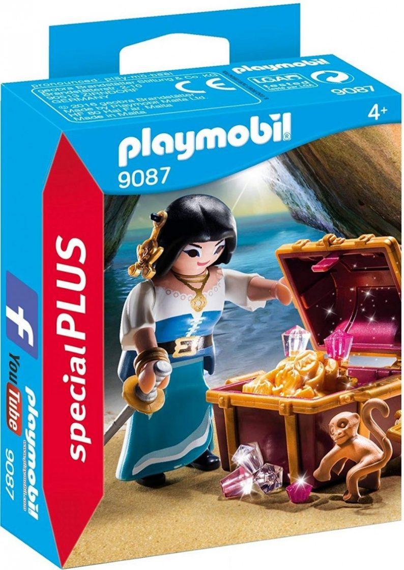 Playmobil pirate treasure set