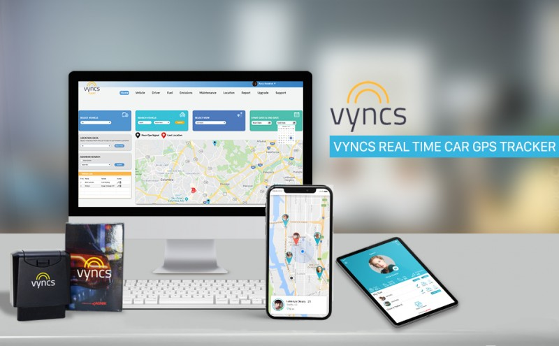 Vyncs real time vehicle GPS tracking
