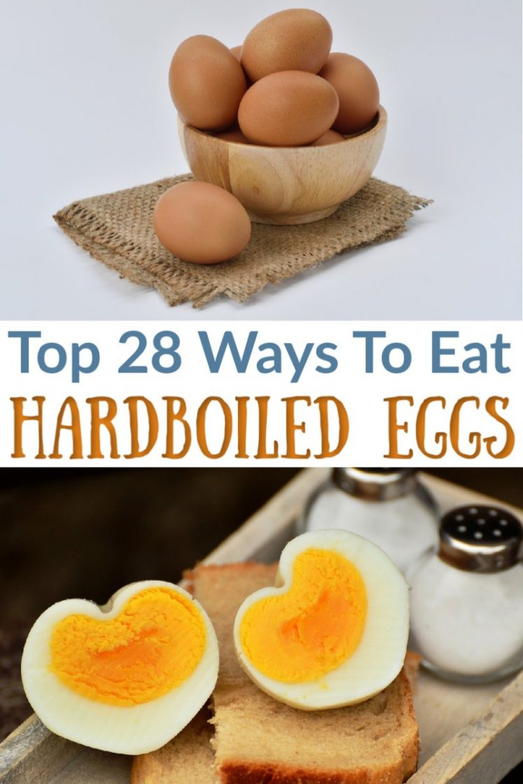 Favorite Ways To Eat/Use Hard Boiled Eggs