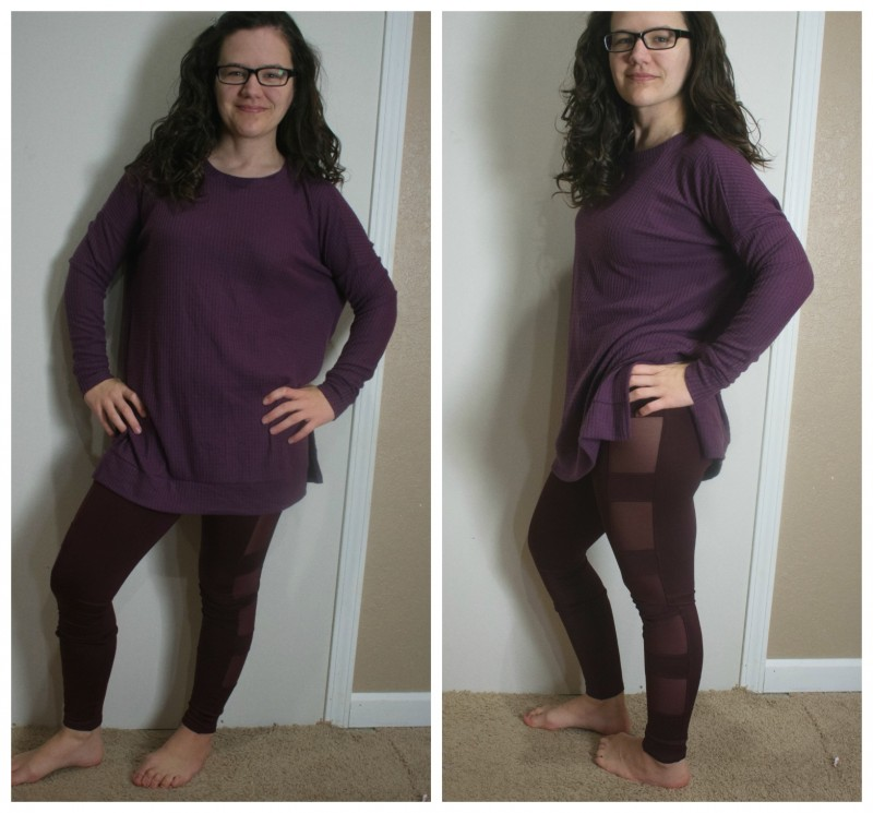 Nadine west purple outfit review
