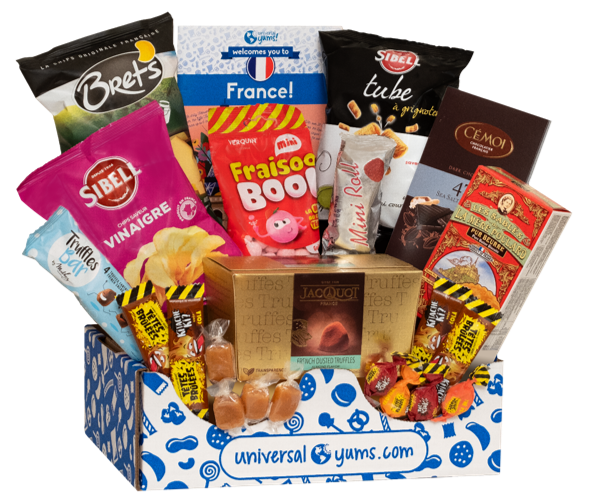Universal Yums sends snacks and candies from around the world directly to your door