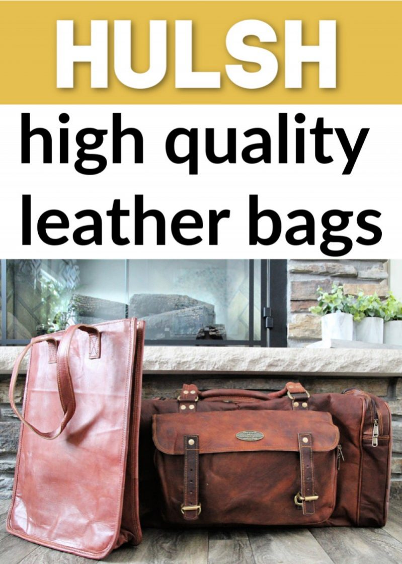Hulsh Leather ~ High Quality Handmade Leather Bags {Review}