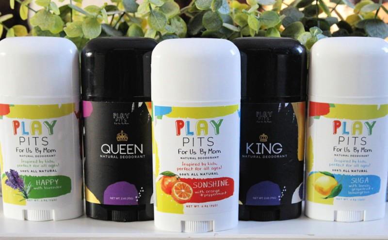 Play Pits - All-Natural Deodorant For Kids & Adults