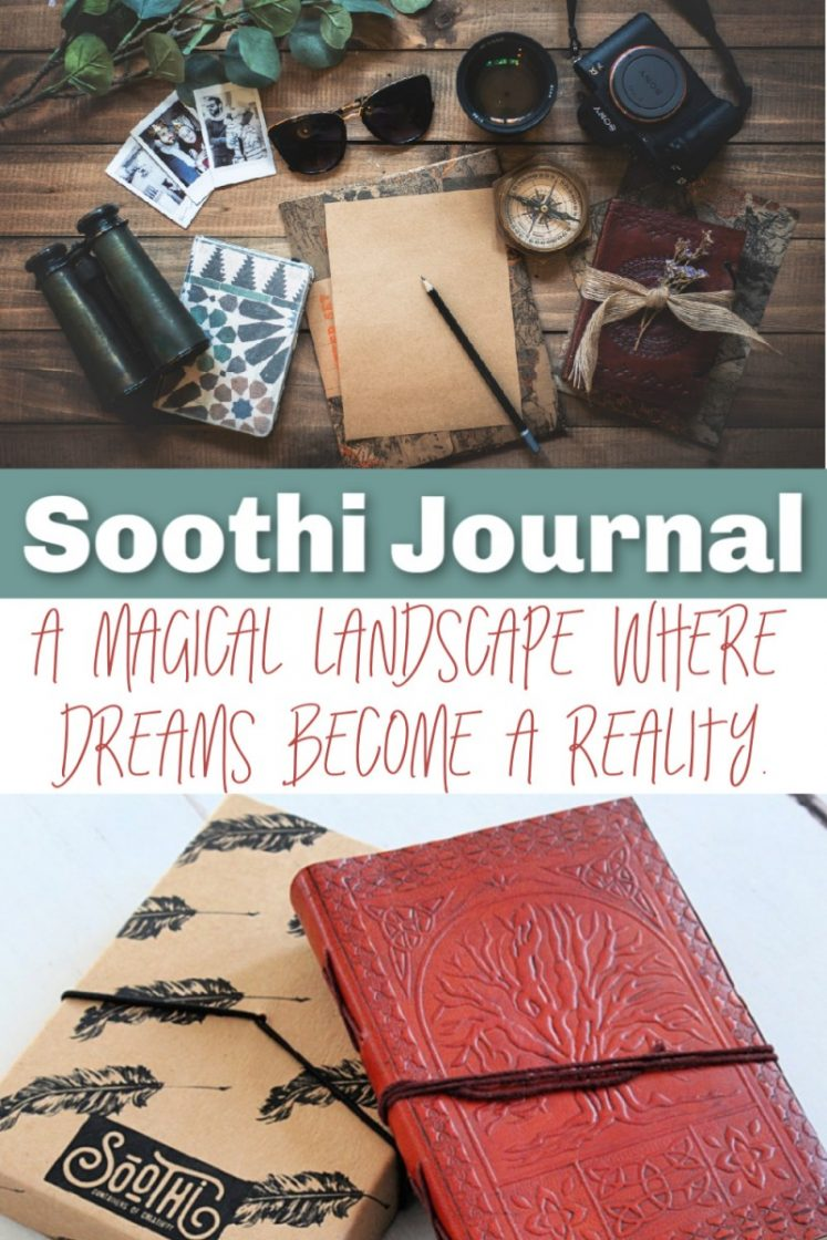 Soothi Leather Journal - Inspiring Gift Idea For Valentine's Day