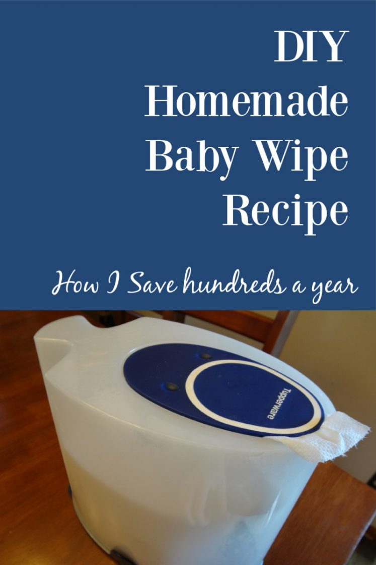 DIY Homemade baby Wipe recipe