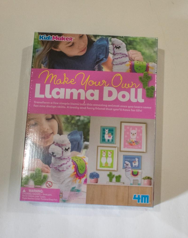 4M llama doll craft kit