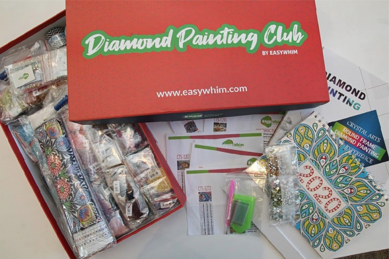 Diamond Painting Club by Easy Whim ~ Delivered Right To Your Door