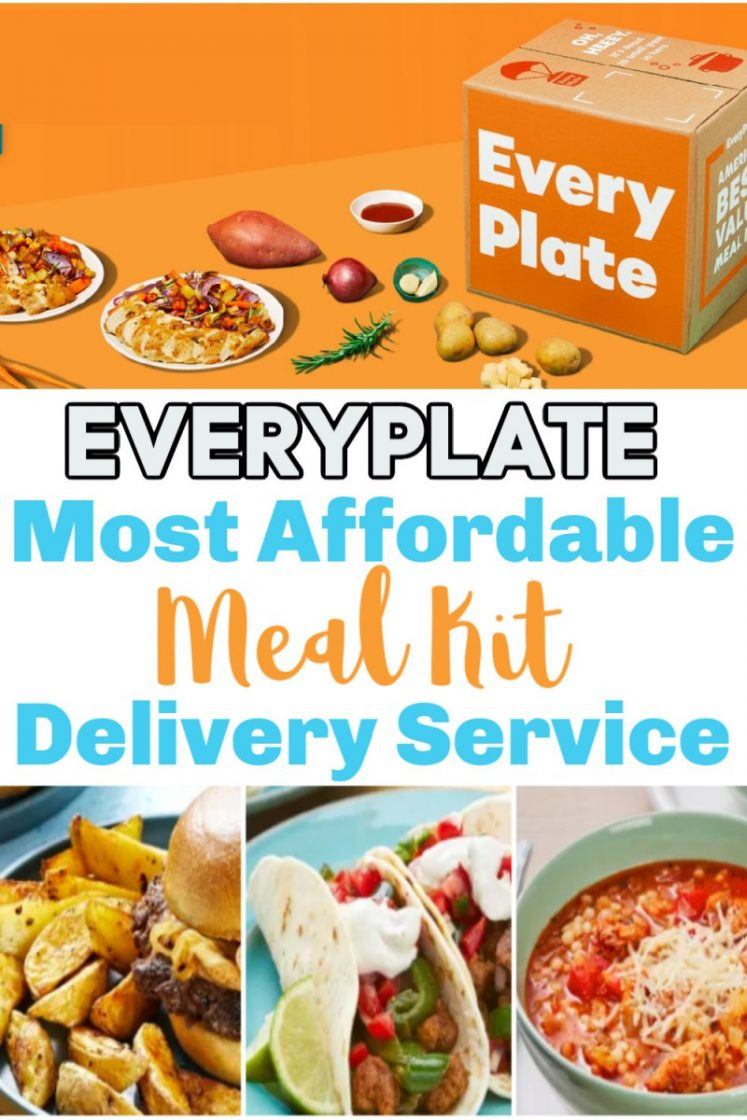 EveryPlate - Affordable Meal Kit Service Delivered To Your Door!
