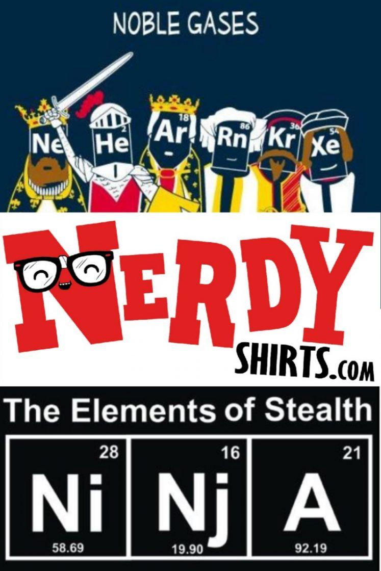 Awesome Shirts From NerdyShirts.com