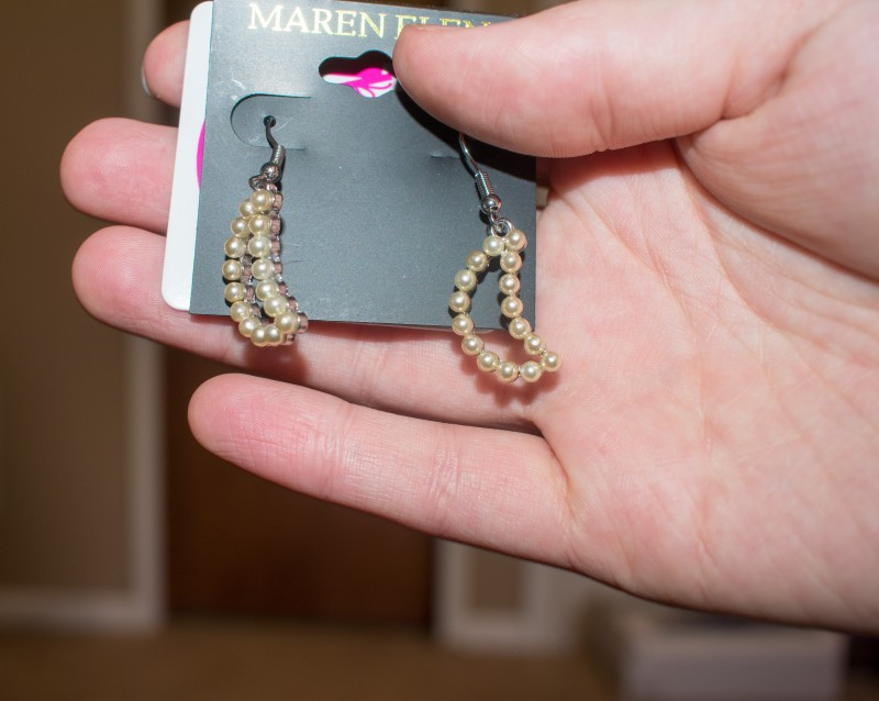 Nadine west moon earrings