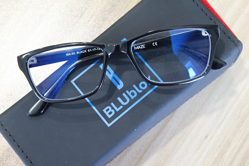 BLUbox Blue Lite Glasses - Denver Computer Glasses