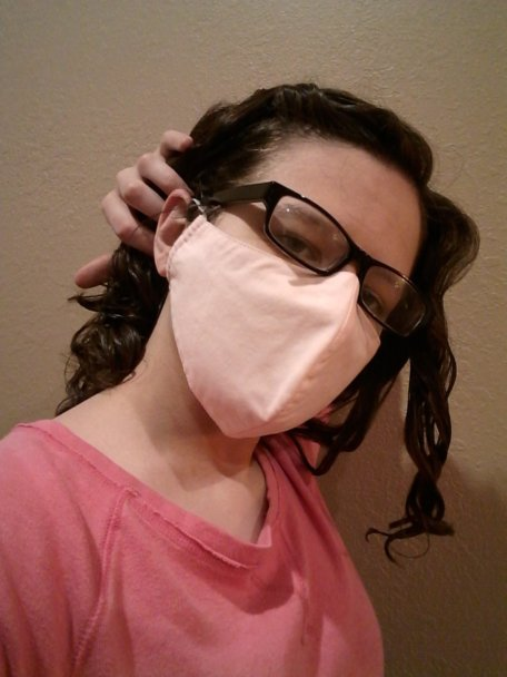 Boomer Naturals rounded face mask
