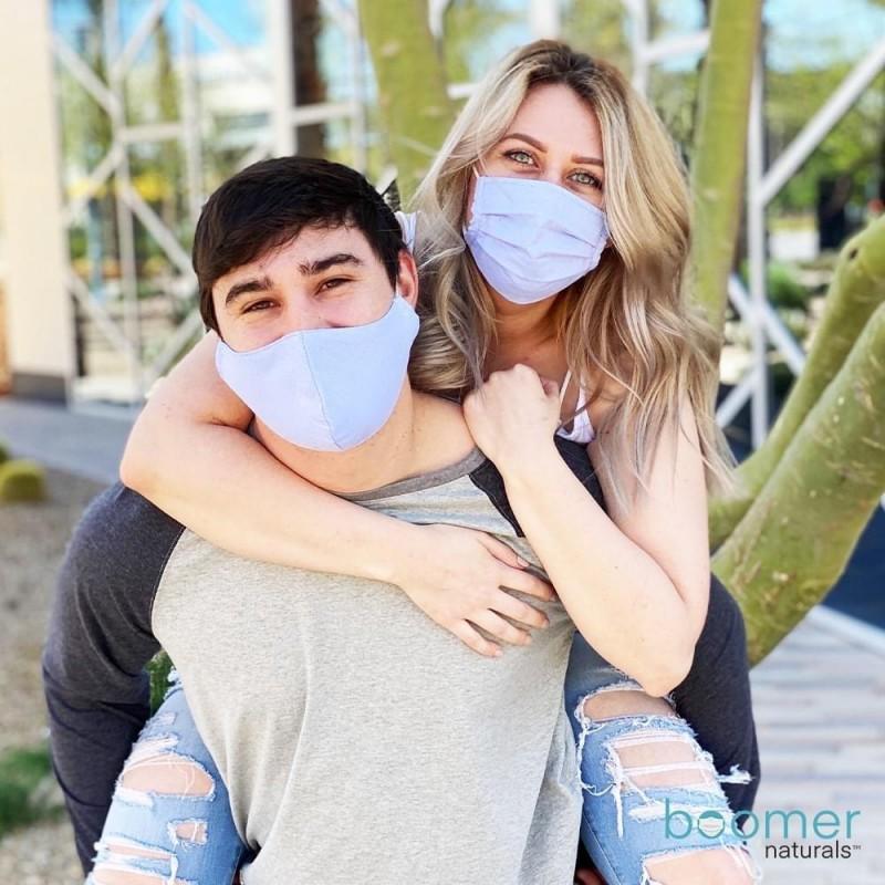 Boomer Naturals adult face masks