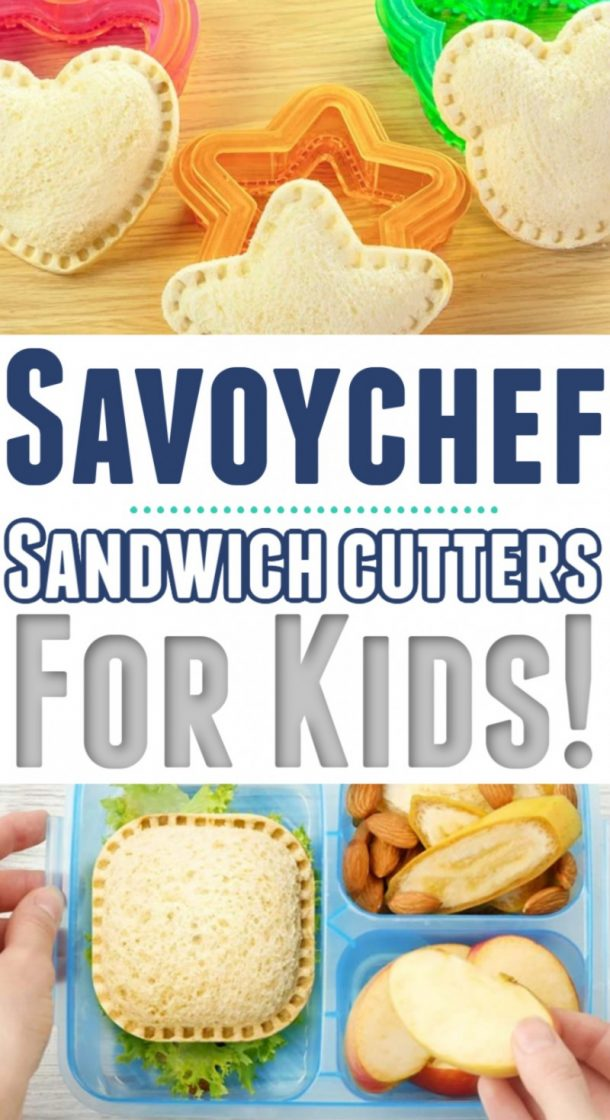 Savoychef - Make Your Own Un-Crustable Sandwiches At Home!