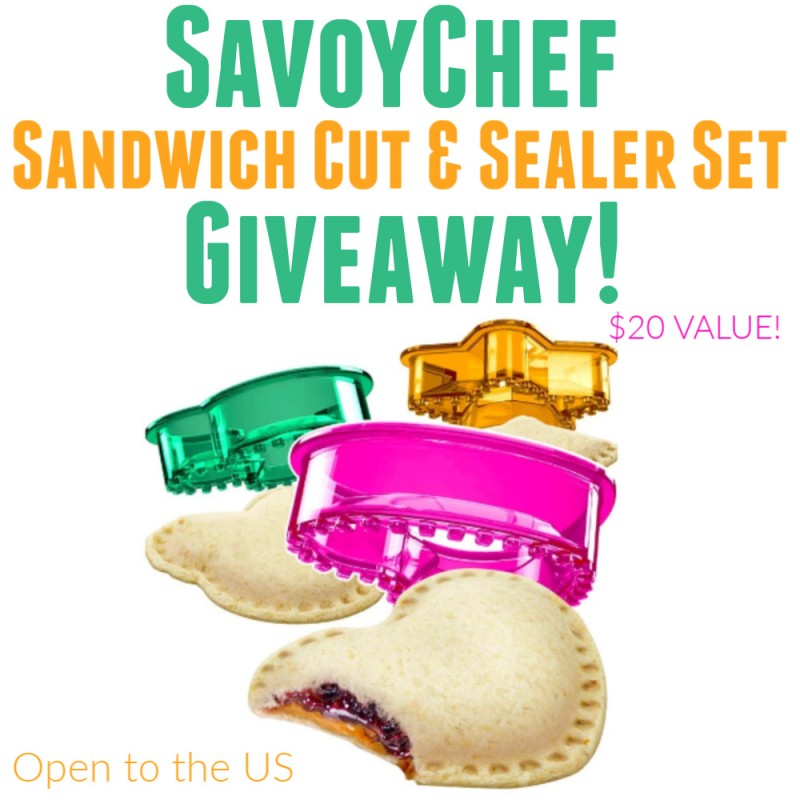 Savoychef - Make Your Own Un-Crustable Sandwiches At Home! GIVEAWAY!