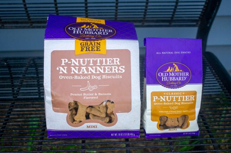 Old mother hubbard p-nuttier dog treats