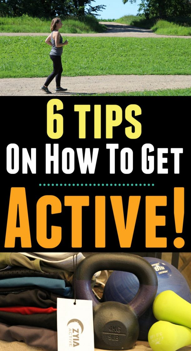 6 Tips On How To Get Active + ZYIA Active Review