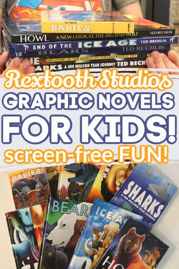 Rextooth Studios - Best Books For Summer Reading And Screen Free Entertainment