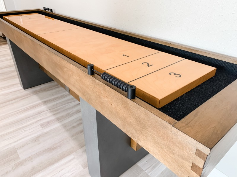 The Game Table You Need With Limited Space - Barrington Urban Collection Shuffleboard Table Review